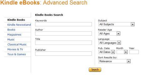 KindleAdvancedSearch