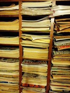 LibraryMagazineRack