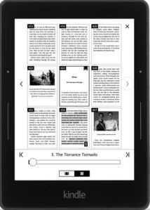 Page Flip on a Kindle